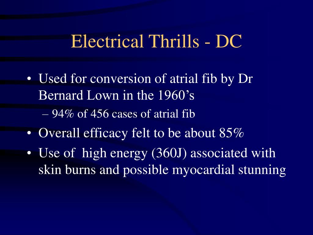 Electrical Thrills - DC