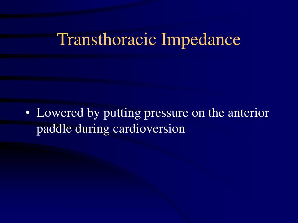 Lowered by putting pressure on the anterior paddle during cardioversion