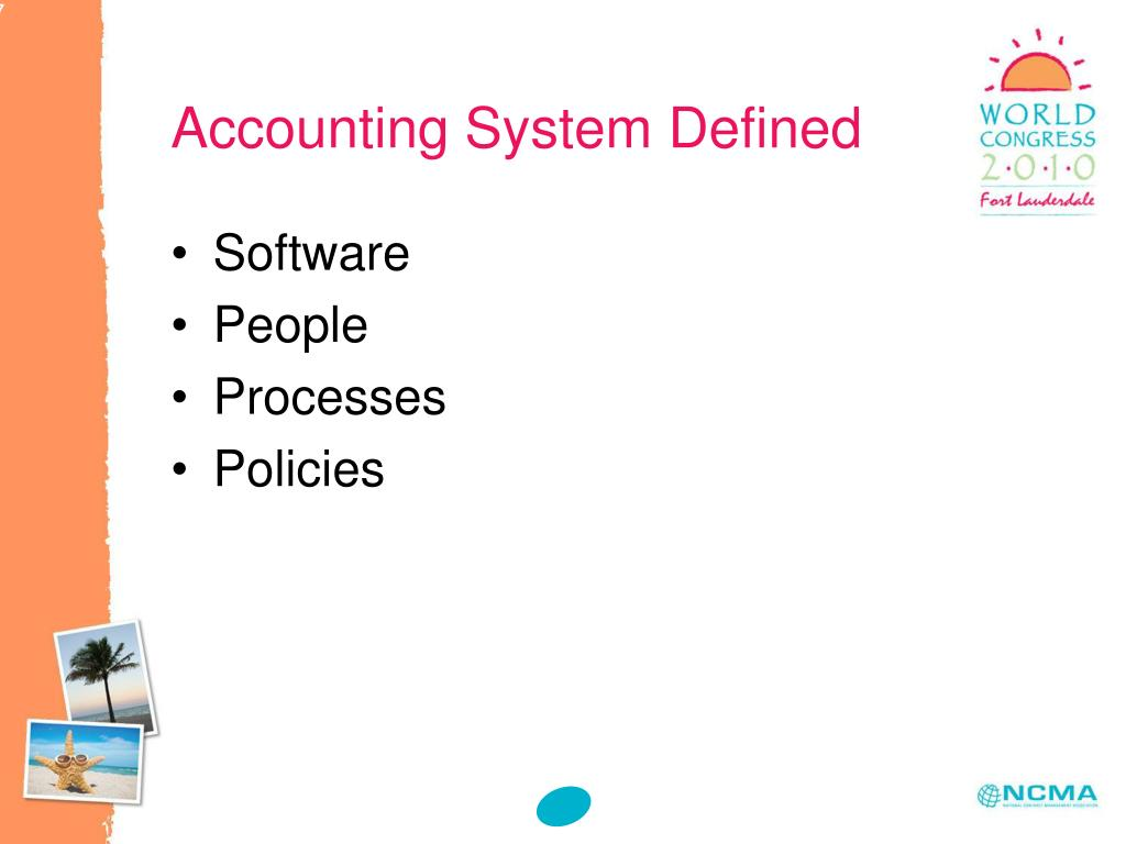 Accounting System Defined