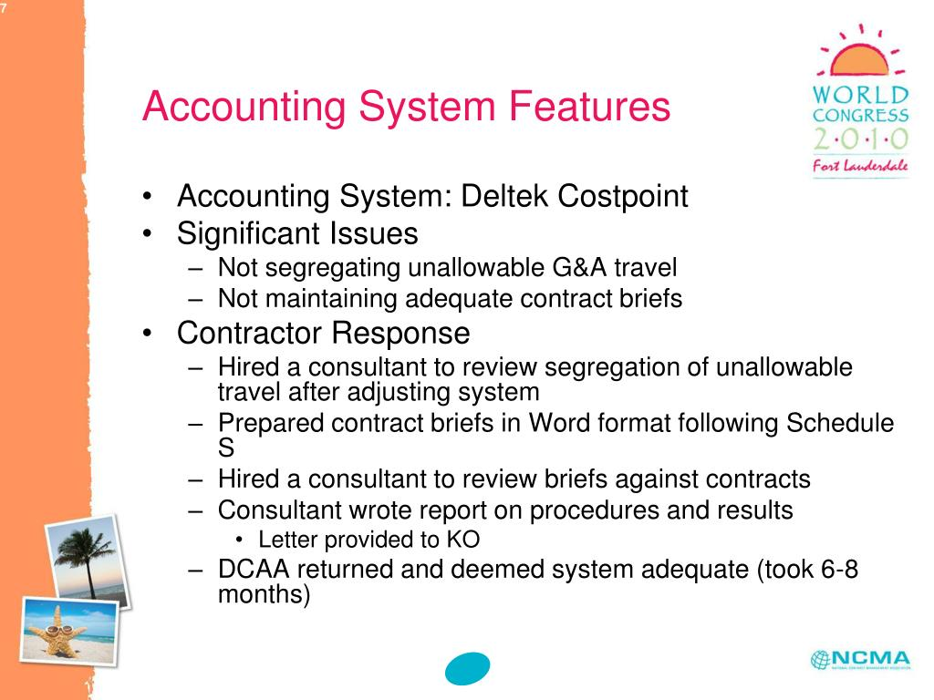 Accounting System Features