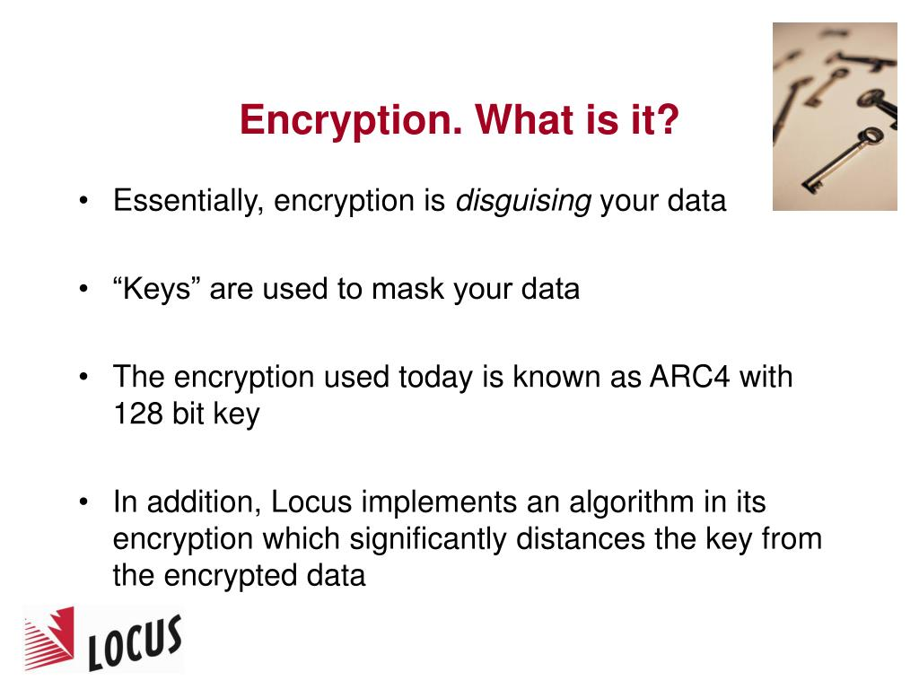 Encryption. What is it?