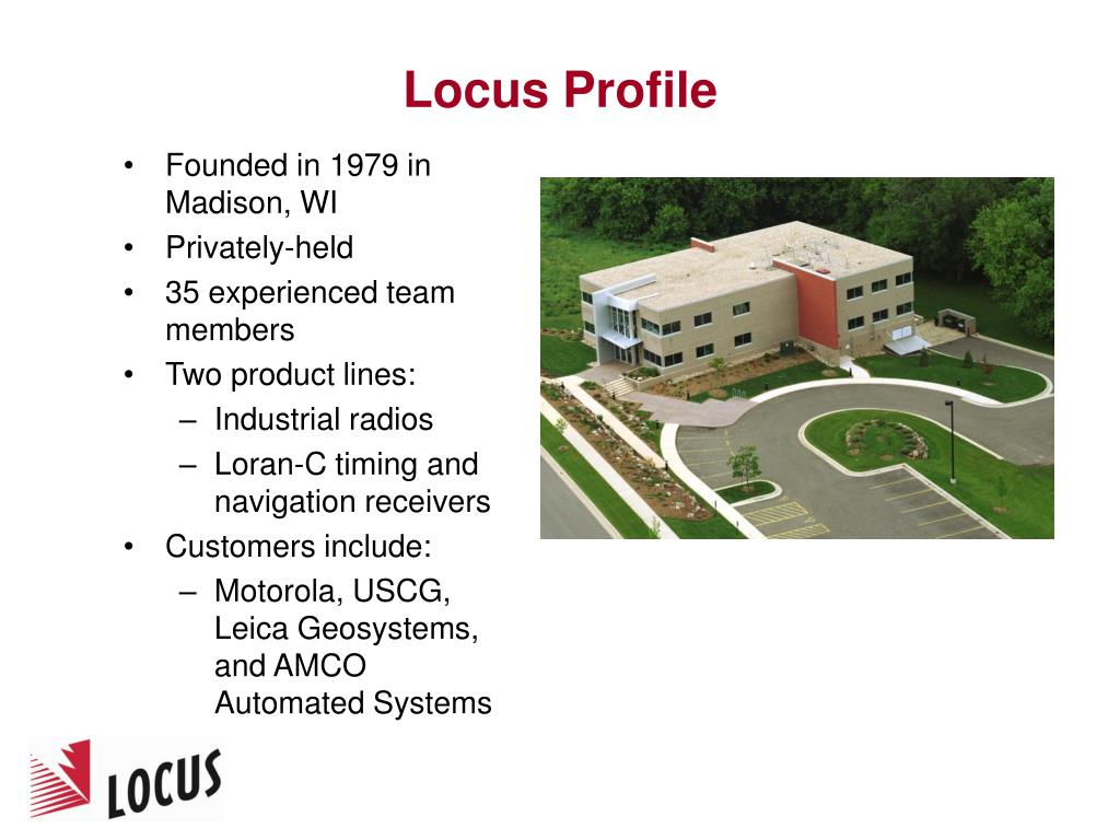Locus Profile