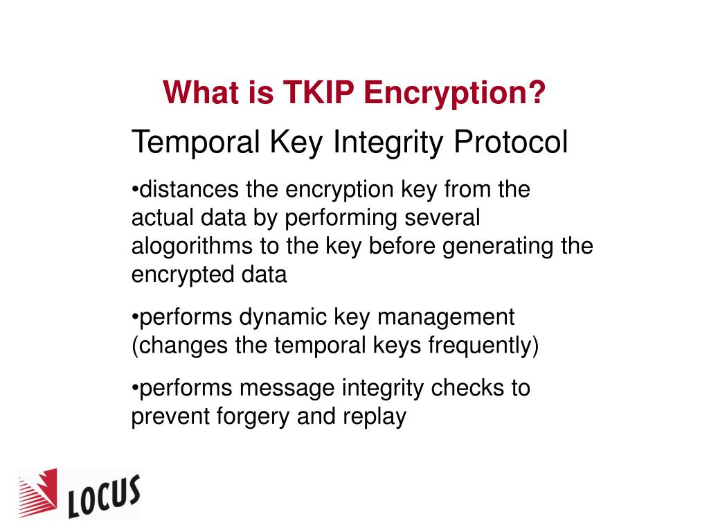What is TKIP Encryption?