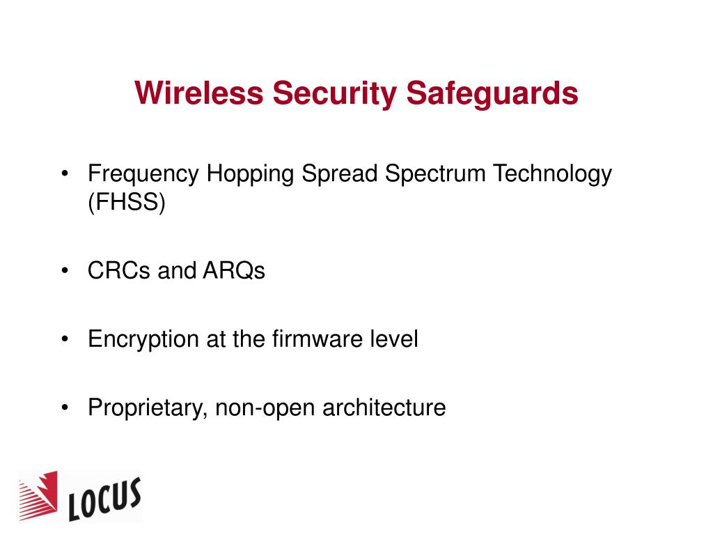 Wireless Security Safeguards