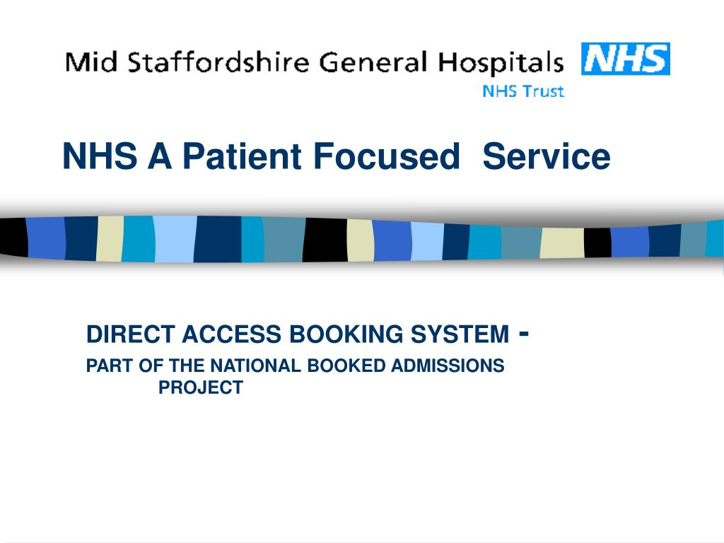 NHS A Patient Focused
