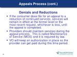 appeals process cont41
