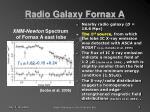 radio galaxy fornax a3