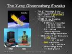the x ray observatory suzaku