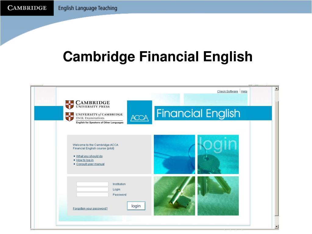 Cambridge Financial