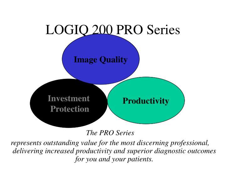 Logiq 200 pro series