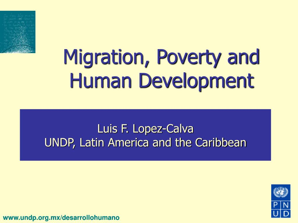migration poverty and human development l.