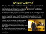 bar bat mitzvah