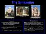the synagogue