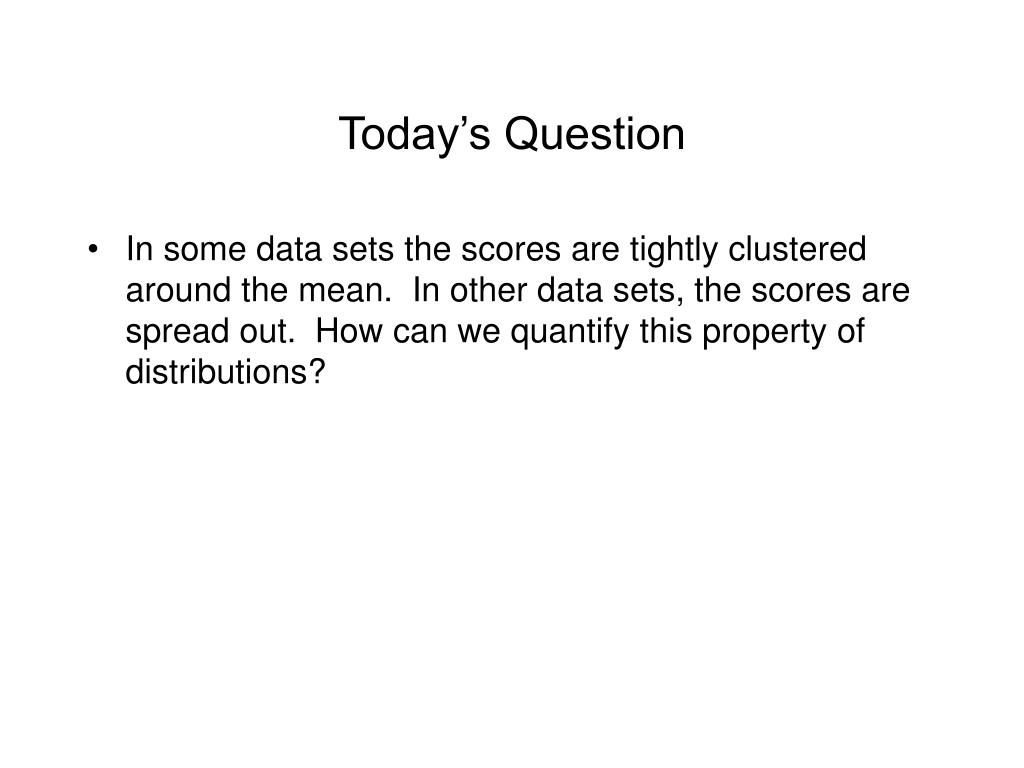 today s question l.