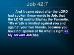 job 42 7
