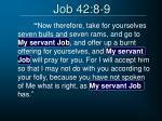 job 42 8 9