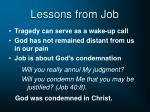 lessons from job19