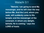 malachi 3 1