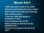 micah 6 6 7