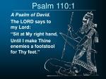 psalm 110 1