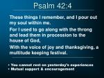 psalm 42 4