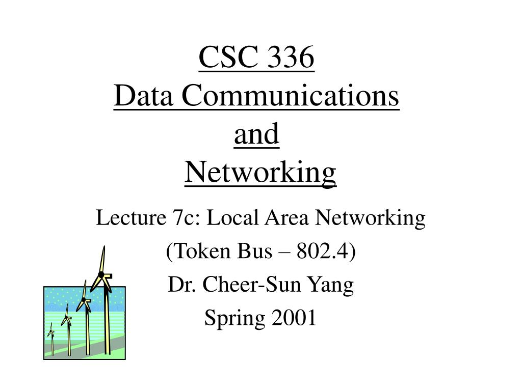 csc 336 data communications and networking l.