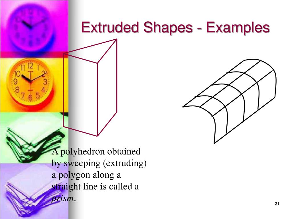 Extruded Shapes - Examples