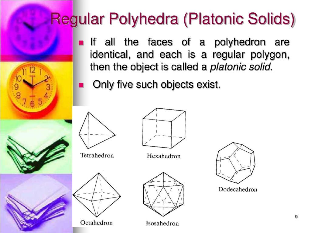 Regular Polyhedra (