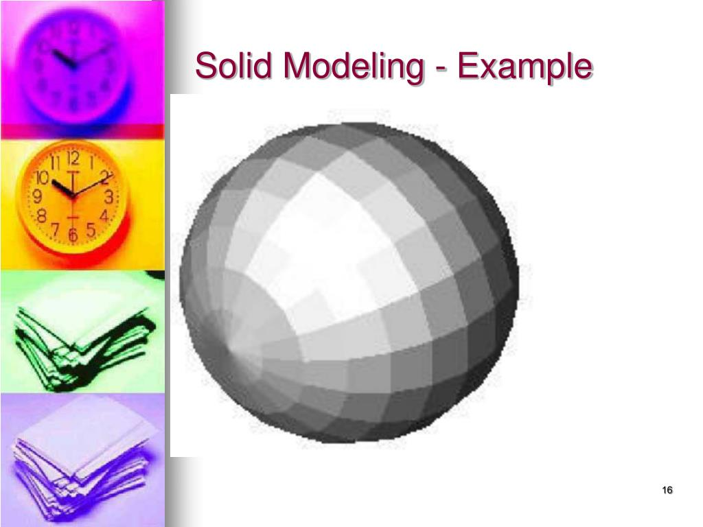 Solid Modeling - Example