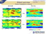global overview ozone tropospheric columns10