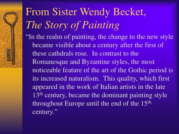 From sister wendy becket the story of painting3