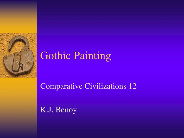 Gothic painting