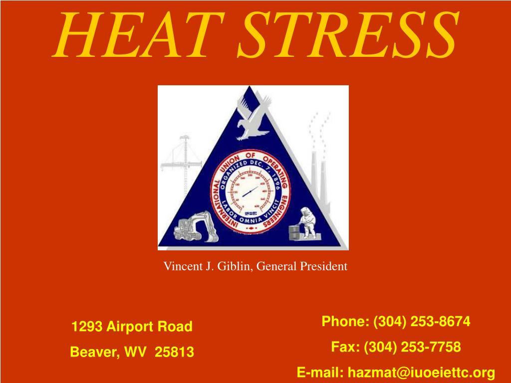 heat stress l.