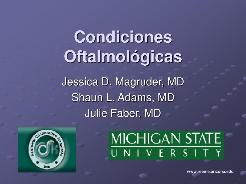 Condiciones Oftalmol