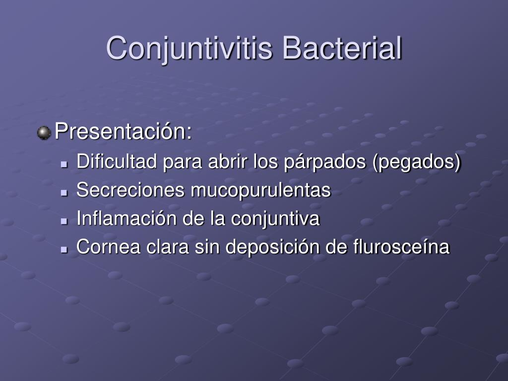 Conjuntivitis Bacterial