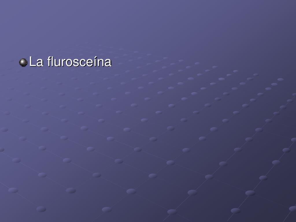La flurosceína
