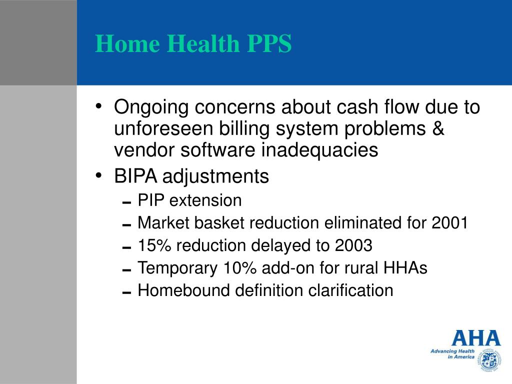 Home Health PPS