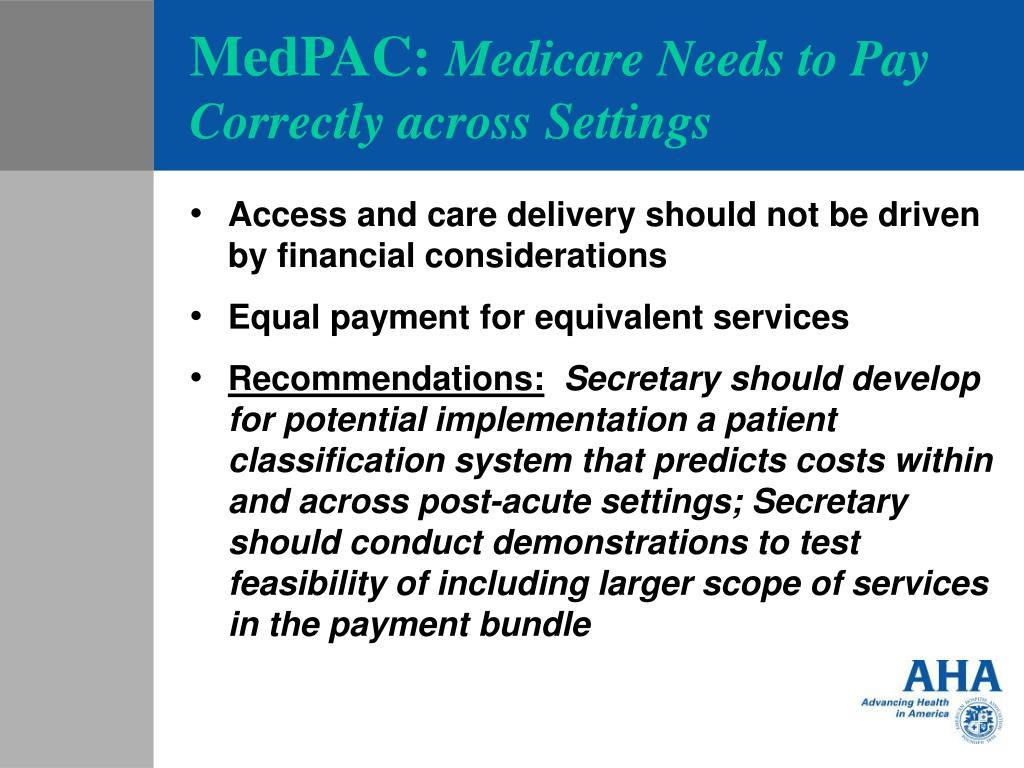 MedPAC: