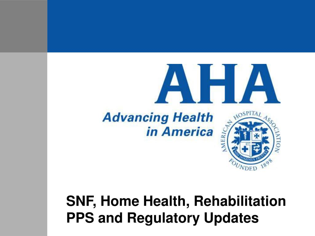 SNF, Home Health, Rehabilitation
