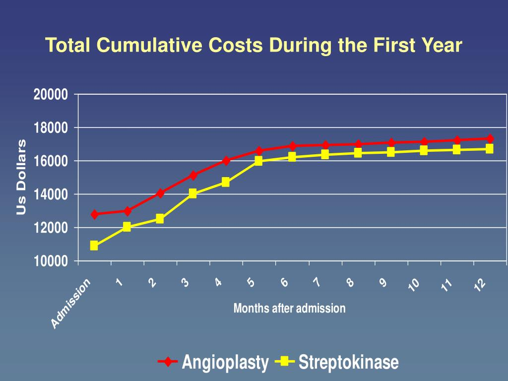 Total Cumulative Costs During the First Year