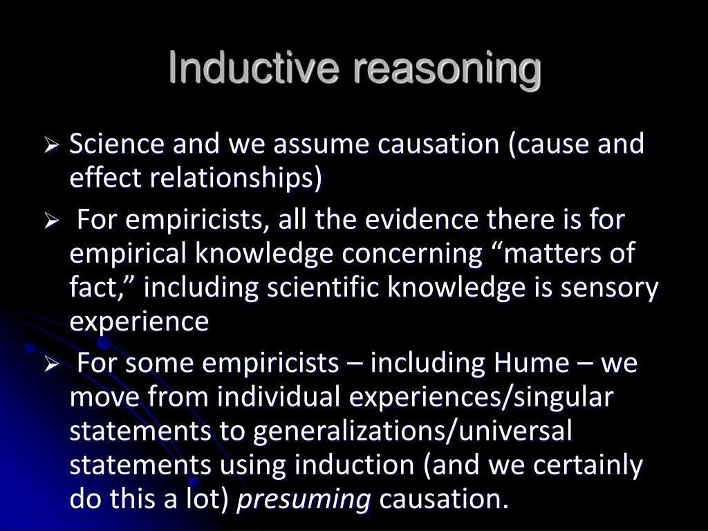 Inductive reasoning