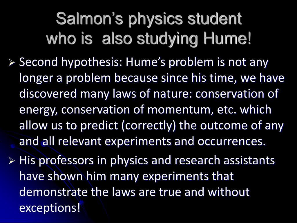 Salmon's physics student