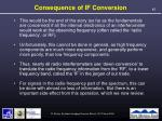 consequence of if conversion