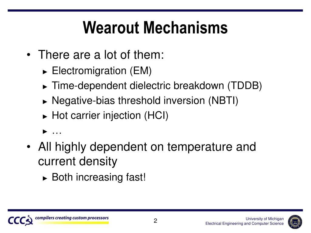 Wearout Mechanisms