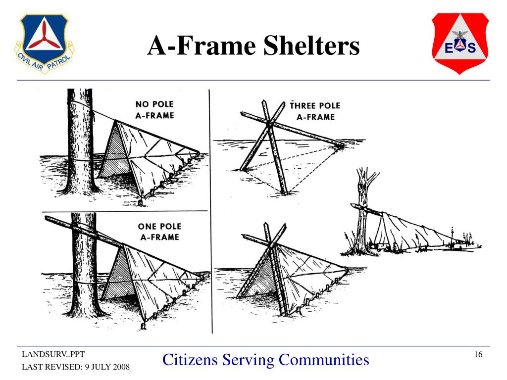 A-Frame Shelters
