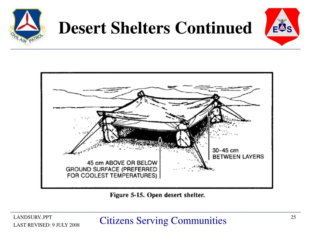 Desert Shelters Continued