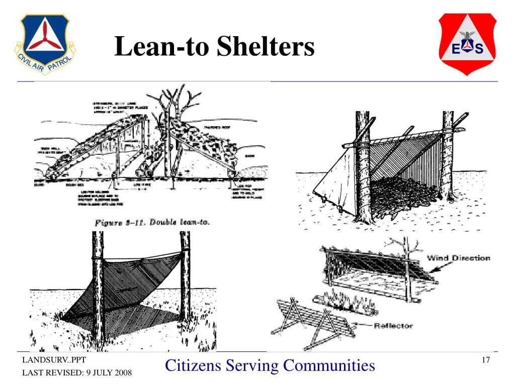 Lean-to Shelters