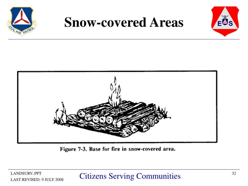 Snow-covered Areas