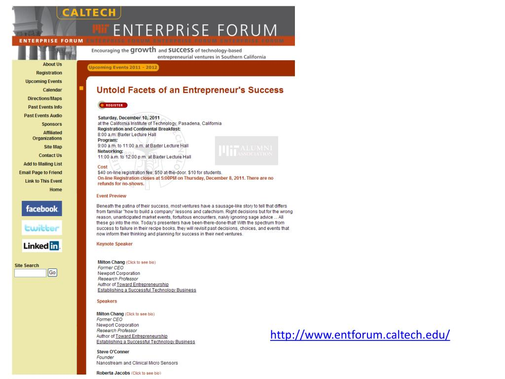 http://www.entforum.caltech.edu/