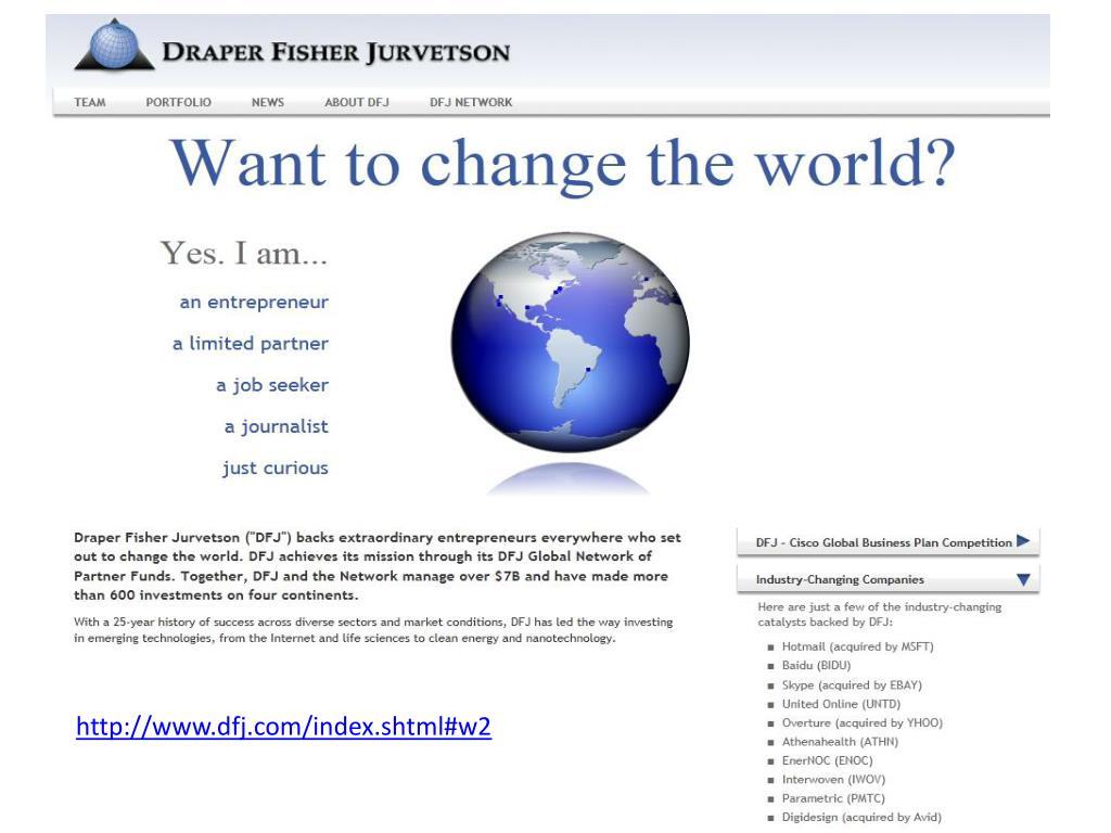http://www.dfj.com/index.shtml#w2